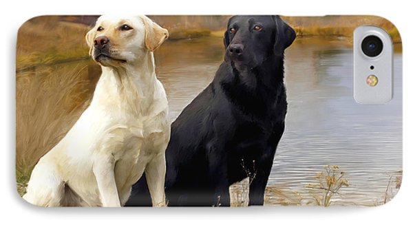 Two Labs IPhone Case
