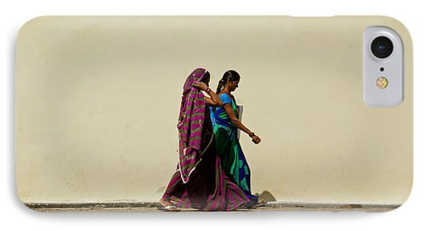 Two Ladies Phone Case by Kees Colijn