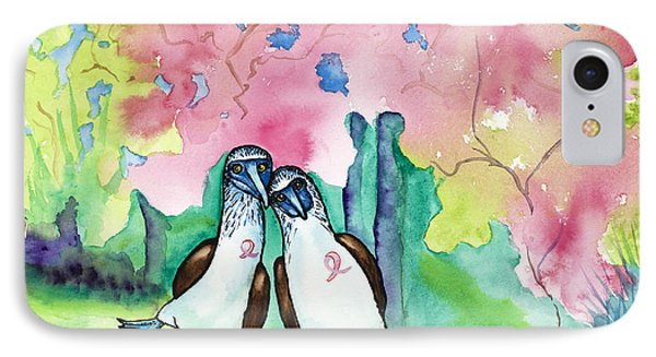 Two Little Boobies Support Breast Cancer Awareness Week Phone Case by Dale Bernard