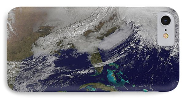 Two Low Pressure Systems Merging IPhone Case
