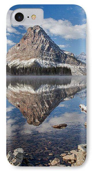 IPhone Case featuring the photograph Two Medicine Morning by Jack Bell