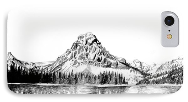 Two Medicine Mountain Phone Case by Kayleigh Semeniuk