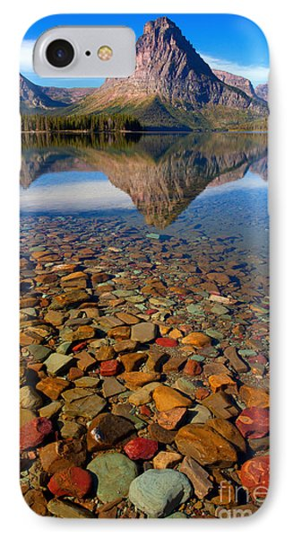 IPhone Case featuring the photograph Two Medicine Reflection by Aaron Whittemore