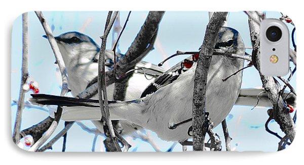 Two Mocking Birds IPhone Case