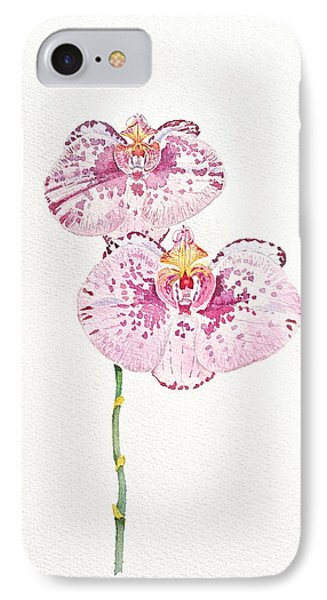 Two Orchids IPhone Case by Michele Myers