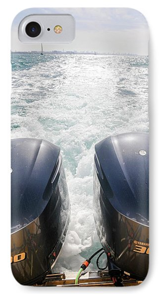 Two Outboard Engines IPhone Case by Photostock-israel