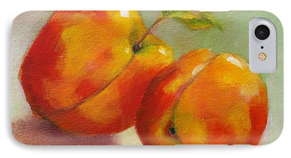 Two Peaches IPhone Case by Michelle Abrams