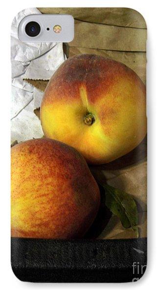 Two Peaches Phone Case by Miriam Danar