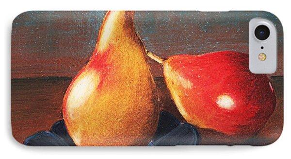 Two Pears IPhone Case by Anastasiya Malakhova