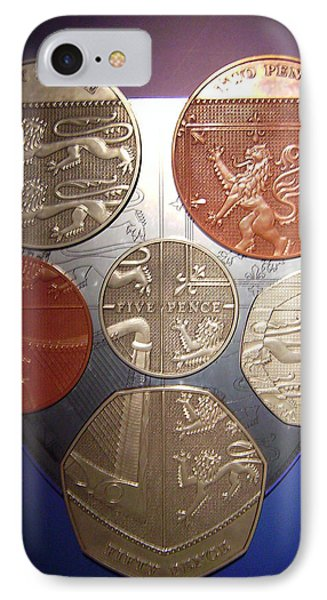 Two Pence Five Pence Ten Pence IPhone Case
