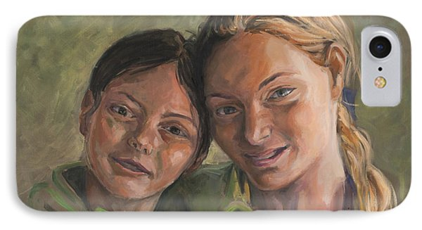 Two Sisters Phone Case by Marco Busoni