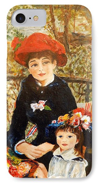 Two Sisters On The Terrace After Renoir IPhone Case