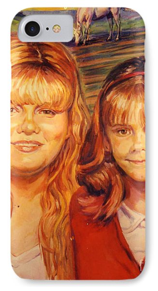 Two Sisters IPhone Case by Stan Esson