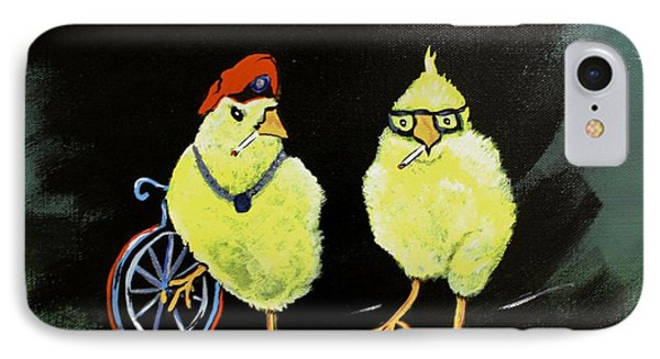 Two Smokin Hot Chicks IPhone Case