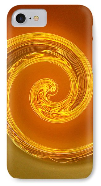 Two-toned Swirl Phone Case by Art Block Collections