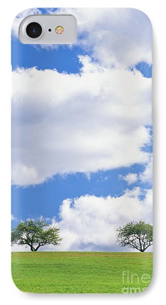 Two Trees IPhone Case by Alan L Graham