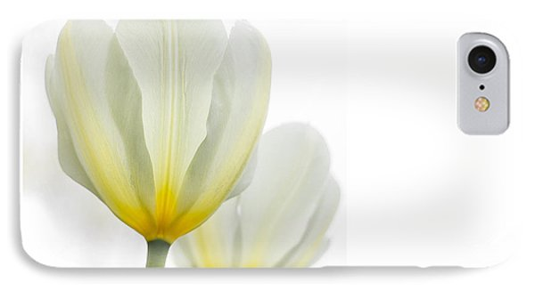 Two Tulips 1 IPhone Case by Peter Scott
