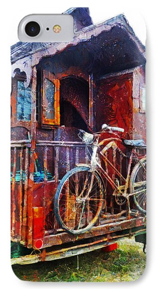 Two Wheels On My Wagon IPhone Case
