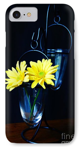 Two Yellow Daisies IPhone Case by Kerri Mortenson