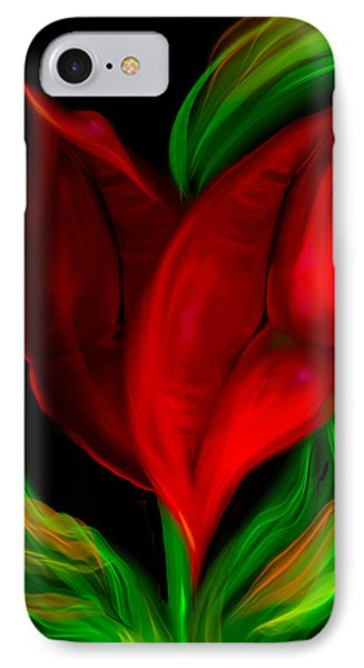 Twolips Phone Case by Billie Jo Ellis
