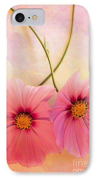 Two's Company Phone Case by Jan Bickerton