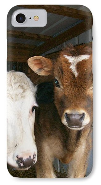 IPhone Case featuring the photograph Two's Company by Sara  Raber