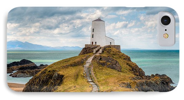 Twr Mawr Path IPhone Case by Adrian Evans