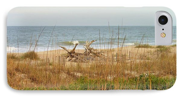 Tybee Island Beach IPhone Case by Kay Gilley