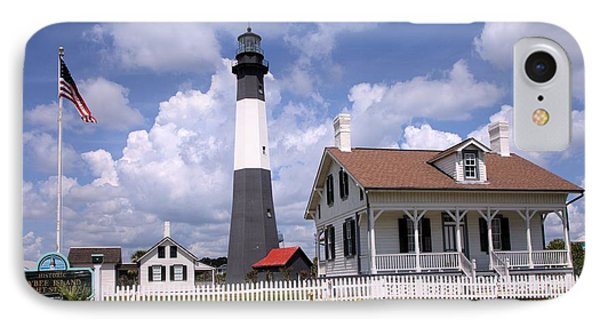 IPhone Case featuring the photograph Tybee Island Light by Gordon Elwell