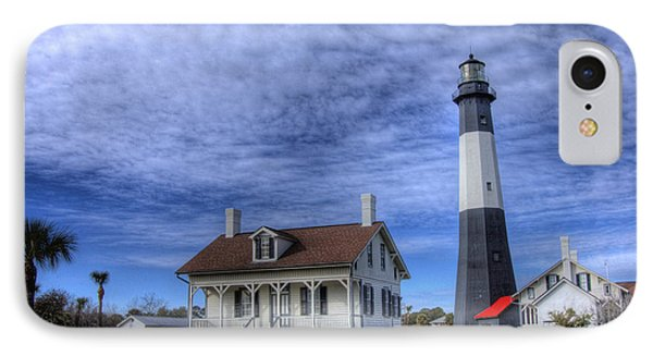 IPhone Case featuring the photograph Tybee Island Lighthouse by Donald Williams