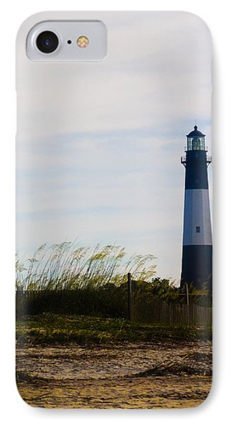 Tybee Island Lighthouse IPhone Case by Jessica Brawley
