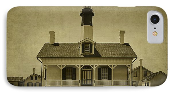 Tybee Lighthouse IPhone Case by Priscilla Burgers