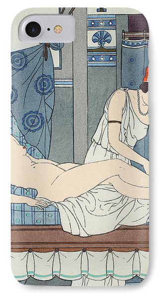Tying The Legs Together Phone Case by Joseph Kuhn-Regnier