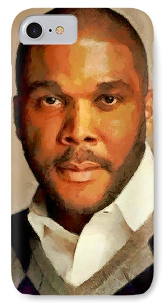 Tyler IPhone Case by Wayne Pascall