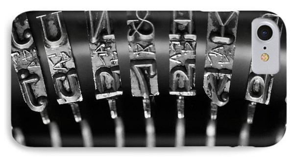 Type Castings Phone Case by Dan Holm