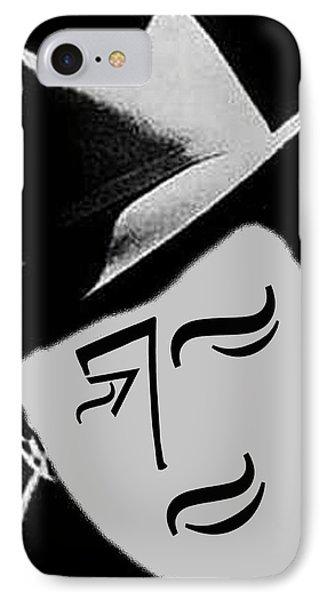 Typortraiture Humphrey Bogart IPhone Case