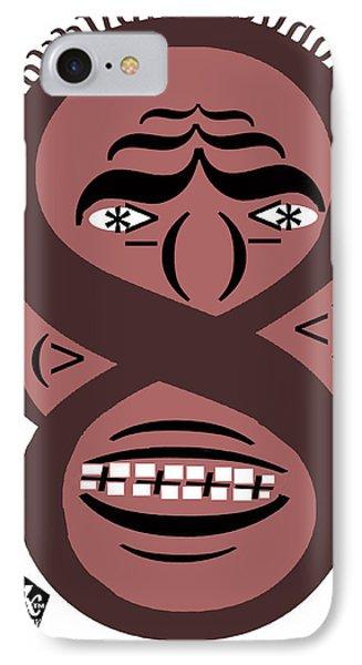 Typortraiture Obama Phone Case by Seth Weaver