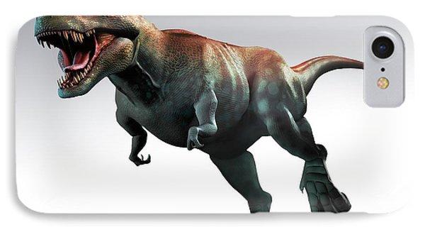 Tyrannosaurus Rex Artwork IPhone Case by Mark Garlick