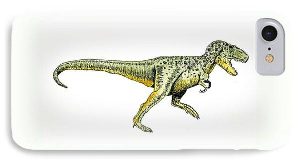 Tyrannosaurus Rex IPhone Case by Michael Vigliotti