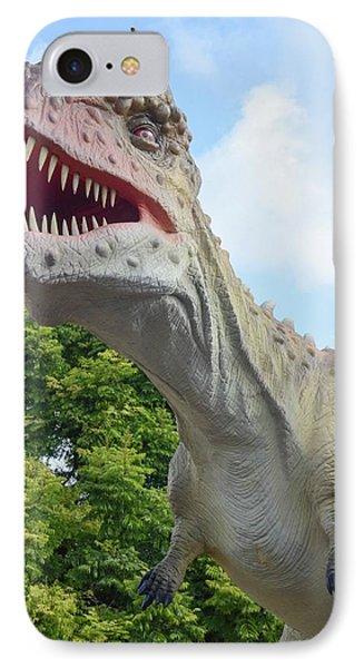 Tyrannosaurus Rex (t. Rex) IPhone Case by Photostock-israel