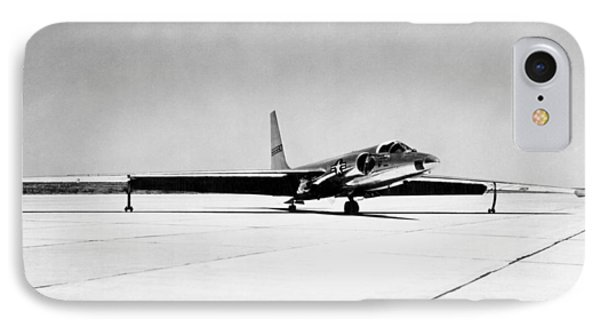 U-2 Reconnaissance Aircraft IPhone Case by Underwood Archives