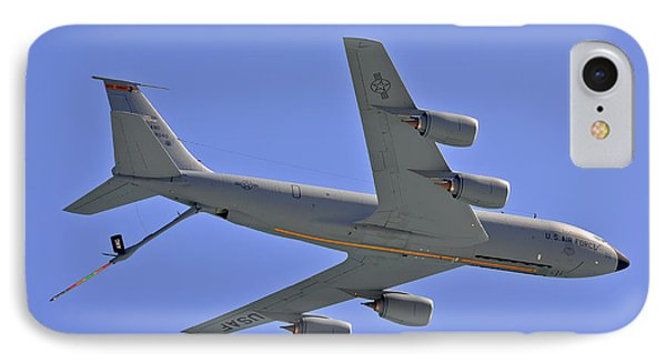 IPhone Case featuring the photograph U S Air Force Flyover by DigiArt Diaries by Vicky B Fuller