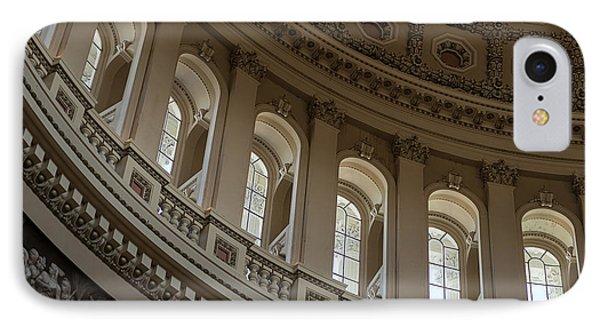 U S Capitol Dome IPhone Case by Steve Gadomski