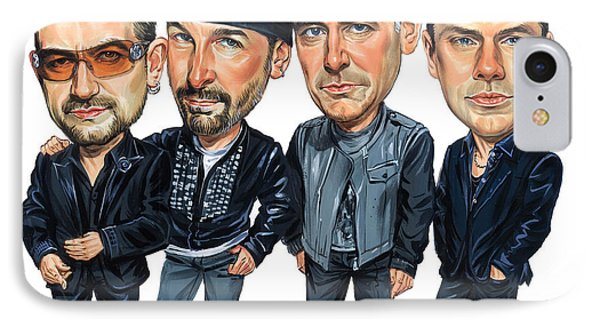 U2 IPhone 7 Case by Art