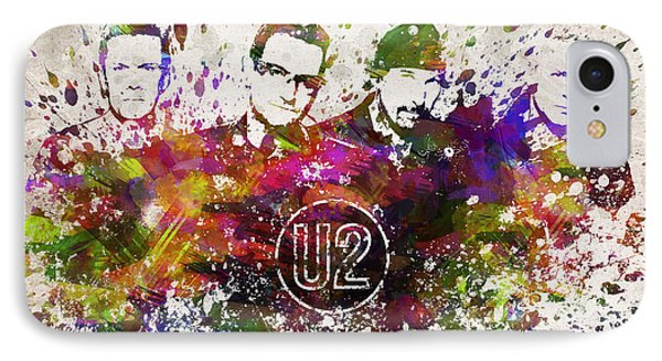 U2 In Color IPhone Case by Aged Pixel