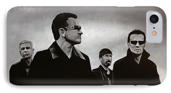 U2 IPhone 7 Case by Paul Meijering