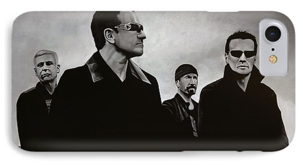 Musicians iPhone 7 Case - U2 by Paul Meijering