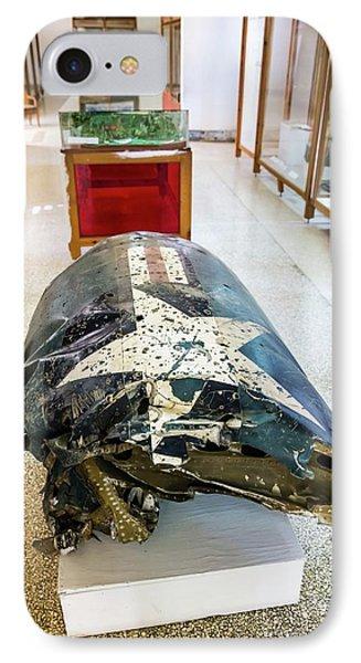 U2 Spy Plane Engine Wreck IPhone Case by Peter J. Raymond