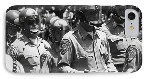 Uc Police Ready IPhone Case by Underwood Archives Thornton