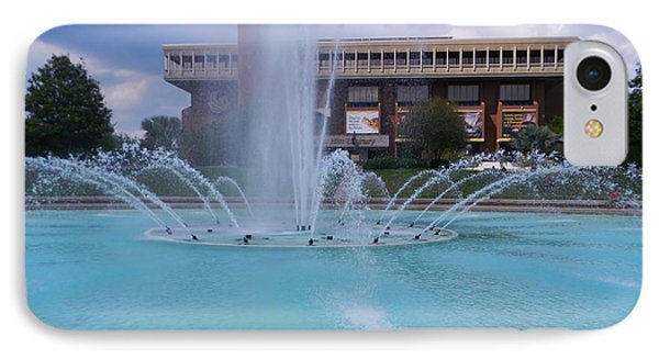 Ucf Reflection Pond 2 IPhone Case by Warren Thompson